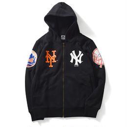【残り僅か】Majestic NEW YORK FULL ZIP PARKA(Black)