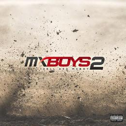 """【残り僅か】13ELL """"MX BOYS 2"""" CD ALBUM (本人直筆サイン/ステッカー付き )"""