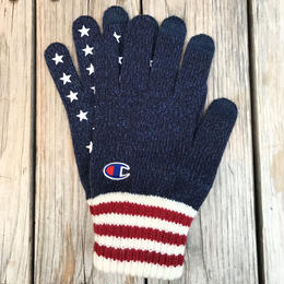 【ラス1】Champion star gloves (Navy)
