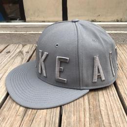 """【残り僅か】NIKE """"AIR"""" snapback cap (Gray)"""