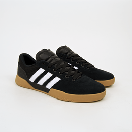 ADIDAS SKATEBOARDING CITY CUP - BLACK / GUM