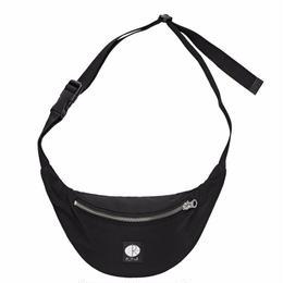 POLAR SKATE CO.HIP BAG-BLACK / WHITE STROKE LOGO PATCH
