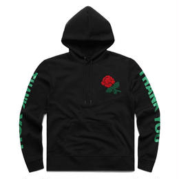 CHINA TOWN MARKET CHENILLE ROSE HOODIE