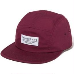 THE QUIET LIFE FOUNDATION 5 PANEL CAMPER HAT - MAROON