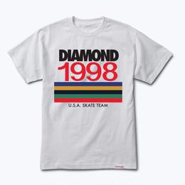 Diamond Supply Co. NINETIES TEE-WHITE