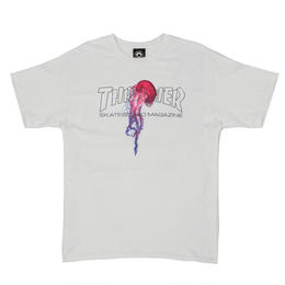 THRASHER  × Atlantic Drift T-Shirt - White