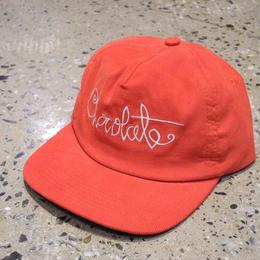 CHOCOLATE SKATEBOARDS SCRIPT CORD CAP RED