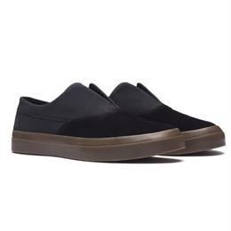 HUF Dylan Slip On Shoes-Black/Dark Gum