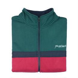 YARDSALE Dior Full Zip Green/Navy/Red