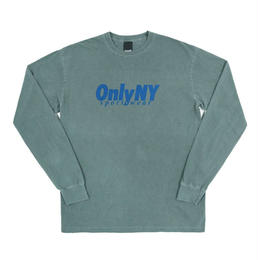 ONLY NY Breakline L/S T-Shirt - Emerald