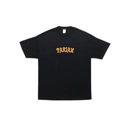 COME SUNDOWN PARIAH EMBROIDERED S/S TEE - BLACK