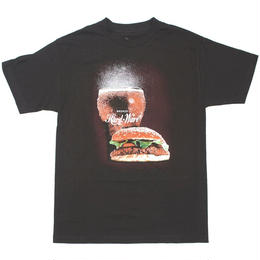 BRONZE56K  BURGER TEE - BLACK