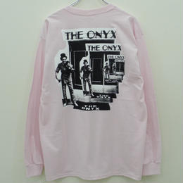 ONYX COLLECTIVE GO ASK ALICE LS TEE-PINK