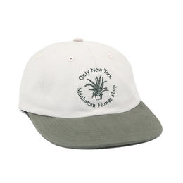 ONLY NY Nylon Flower Shop Polo Hat-Natural
