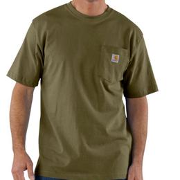 CARHARTT WORKWEAR POCKET T-SHIRT-Army Green
