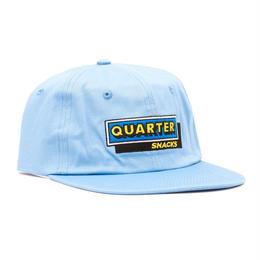 QUARTER SNACKS CAFE CAP-CAROLINA BLUE
