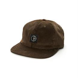 POLAR SKATE CO CORDUROY CAP - Brown