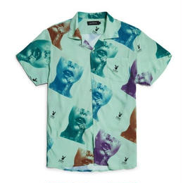 GW × Playboy Stamp Button Up Shirt - Multi