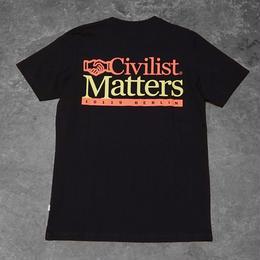 Civilist Matters Tee – Black