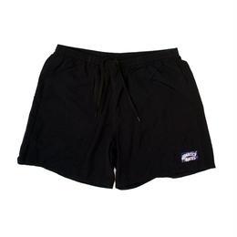 QUARTERSNACKS Swim Trunks —Black
