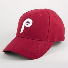 AMERICAN NEEDLE MLB 6PANEL CAP  Philadelphia Phillies - MAROON