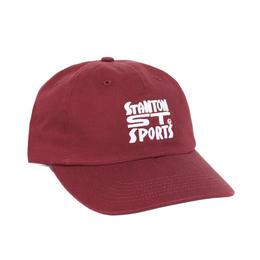 Stanton Street Sports™ Stanton Bodega Polo Hat-Burgundy