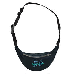 POLAR SKATE CO  DOODLE HIP BAG-Black