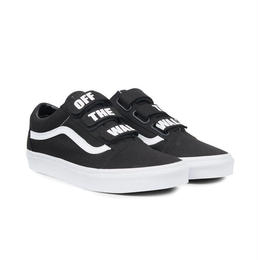 VANS OFF THE WALL OLD SKOOL V -  BLACK / TRUE WHITE