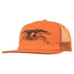 ANTI HERO BASIC EAGLE TRUCKER HAT - ORANGE