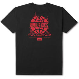 HUF X BUTTER GOODS FEELS LIKE HOME TEE - BLACK/RED