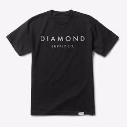 Diamond Supply Co. STONE CUT TEE-BLACK