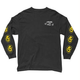 THE QUIET LIFE DRUNK AS HELL LONG SLEEVE T SP18-BLACK