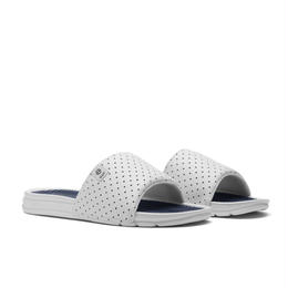 HUF SLIDE - WHITE/NAVY