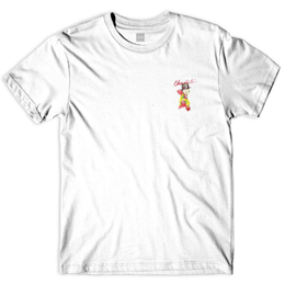 CHOCOLATE SKATEBOARDS BOLERO TEE-WHITE