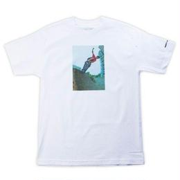GIRL SKATEBOARDS GONZ 80'S PARTY TEE - WHITE