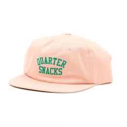 QUARTERSNACKS Classic Arch Cap — Dusty Pink