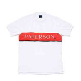 PATERSON LINE WEIGHT POLO - WHITE