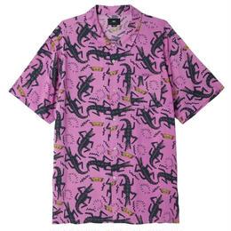 OBEY Salazar Shirt - PURPLE