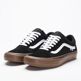 VANS OLD SKOOL PRO BLACK/WHITE/GUM