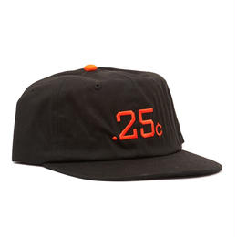 QUARTERSNACKS 25s Cap — Black