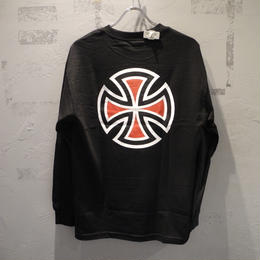 Independent Truck Co. BAR CROSS L/S T SHIRT BLACK