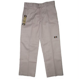 Dickies LOOSE FIT DOUBLE KNEE WORK PANTS - Silver
