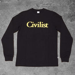 Civilist Drinking Longsleeve – Black