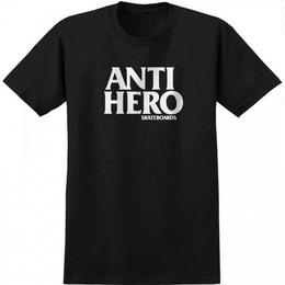 Anti Hero Black hero T-Shirt-Black/White