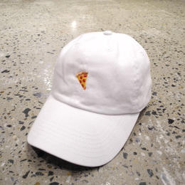 PIZZA SKATEBOARDS EMOJI DELIVERY CAP - WHITE ピザ スケートボード エモジ デリバリー キャップ ホワイト