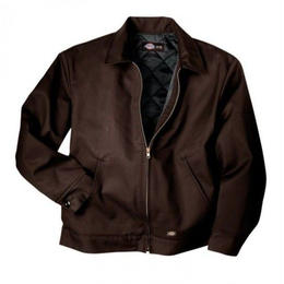DICKIES  INSULATED EISENHOWER JACKET-DARK BROWN