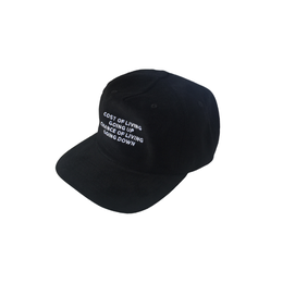 COMESUNDOWN COST OF LIVING CAP BLACK