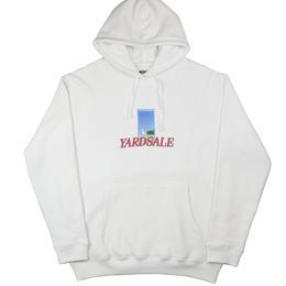 YARDSALE White doorway hoodie