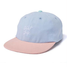 THE QUIET LIFE BOARDWALK POLO HAT - SKYBLUE / PINK