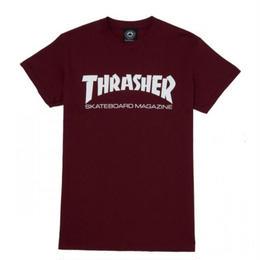 THRASHER SKATE MAG T SHIRTS - MAROON